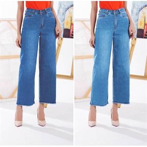 Jeans giấy, ống rộng, co dãn 2710