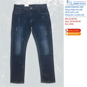 Jeans nam big size dáng ôm vừa 80195