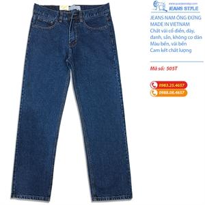 Jeans nam dáng đứng chất cổ điển 505