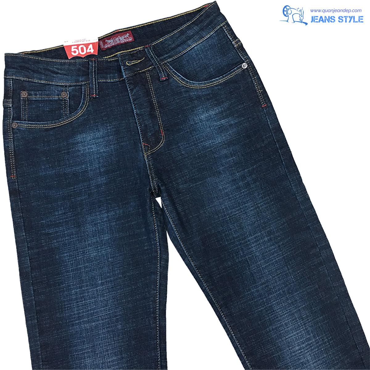 Jeans nam dáng slim-fit co giãn nhẹ 8223 Giá:530.000,00 ₫