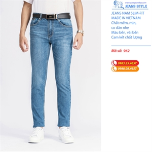 Jeans nam Slim-fit, co dãn 962