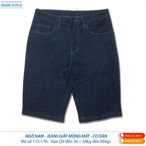 Jeans ngố nam chất  vải mỏng mát 115-116