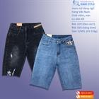 Jeans ngố nữ dáng ôm vừa, cạp cao, co dãn 029-020