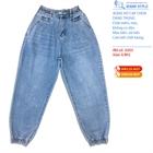 Jeans nữ cạp chun dáng thụng 0202-0203