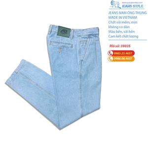 Quần jean nam trung niên ống thụng túi chéo 3903S