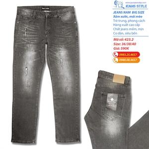 Quần jeans nam big size xuất khẩu siêu đẹp 423.2