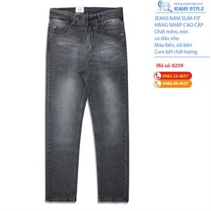 Quần jeans nam dáng slim-fit co giãn nhẹ 8259