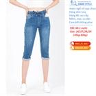 Quần jeans ngố nữ cạp chun 68.1