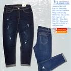 Quần Jeans nữ big size dáng rộng 490