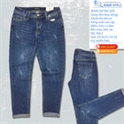 Quần Jeans nữ big size dáng slim-boy rộng 368.2