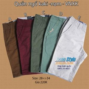 Quần ngố KaKi nam - VNXK size 28 => 34