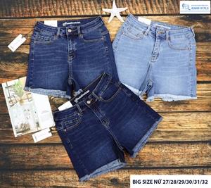 Quần sooc jeans size lớn VNXK 5840